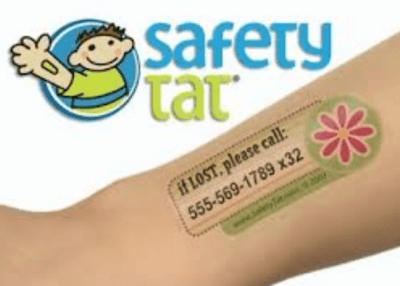 safety tattoos for kids