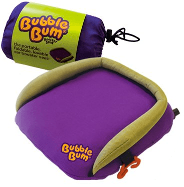 bubble bum skinny car booster seat for travel