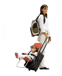 ride-on carry-on luggage seat for toddlers – as seen on shark tank