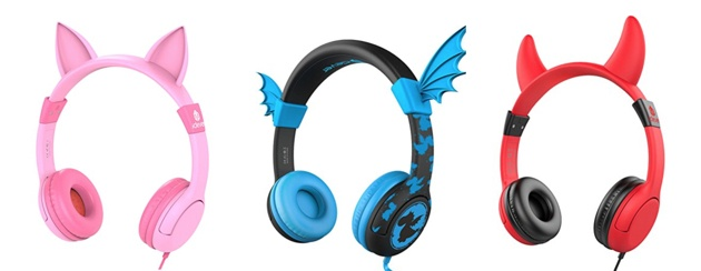 ab27ffc4d2d iClever BoostCare Volume Limited Kids Headphones (Cat/Bat) – From $14.99