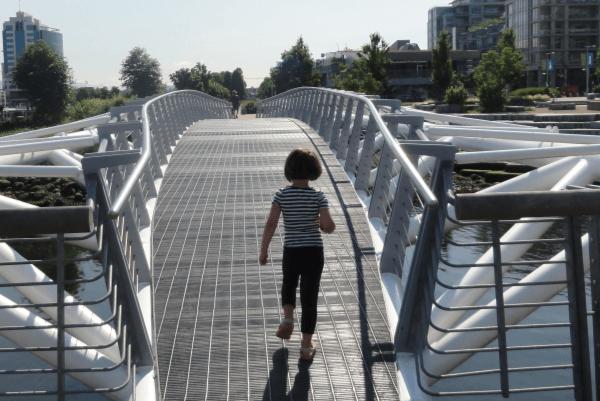 Bridge at the village on false creek vancouver