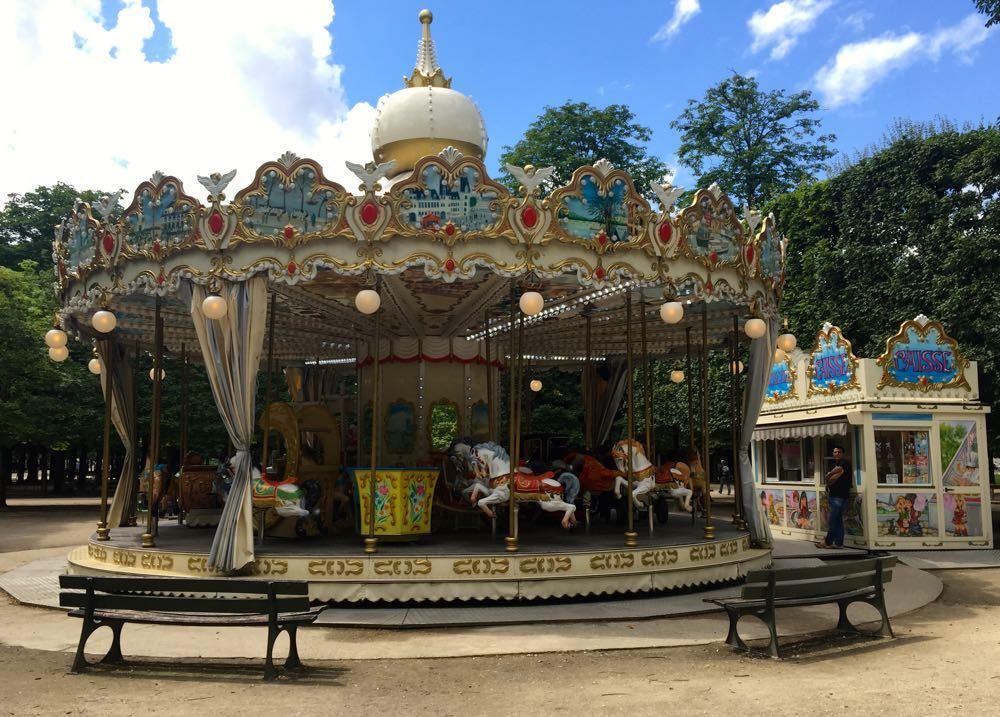 Tuileries Gardens Paris - Carousels