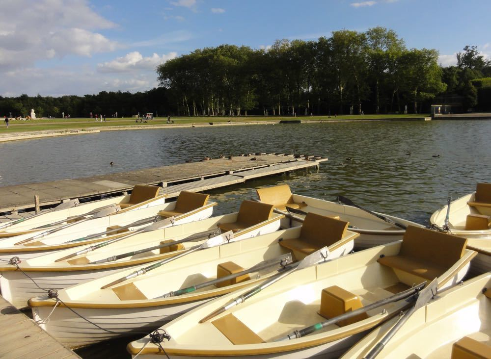 Boats at Versailles