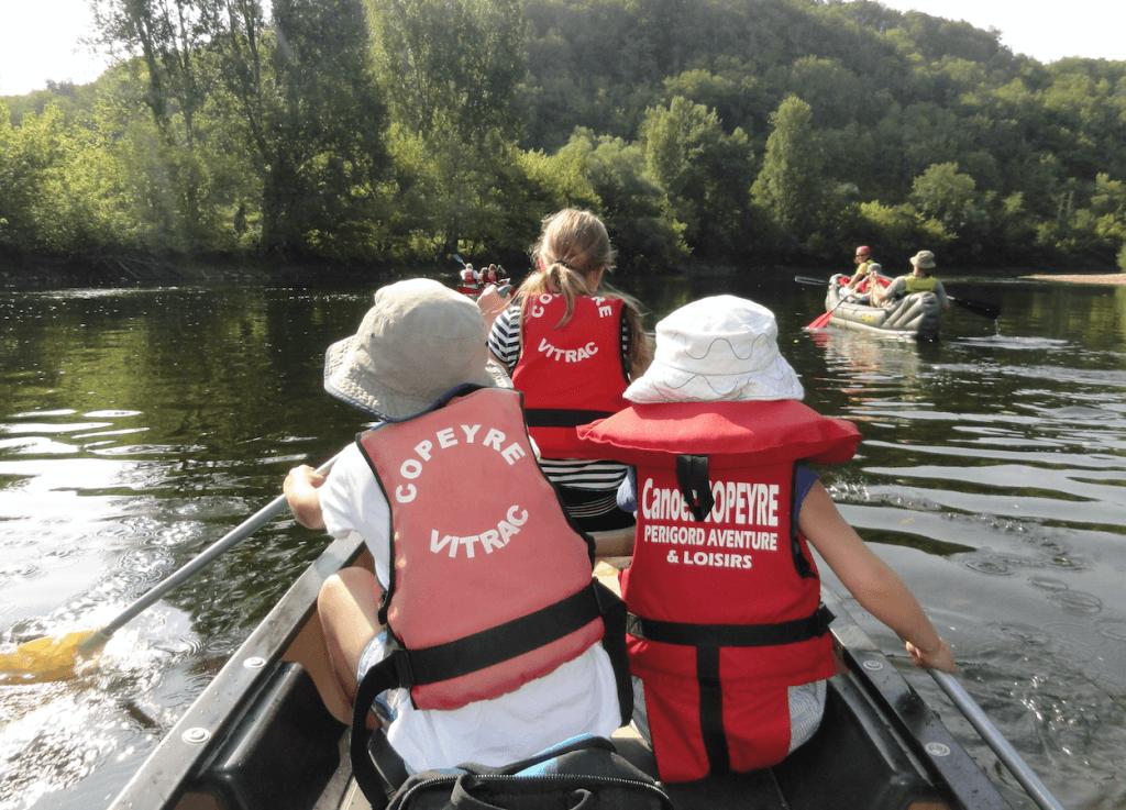 Family Friendy Canoe Trip Dordogne