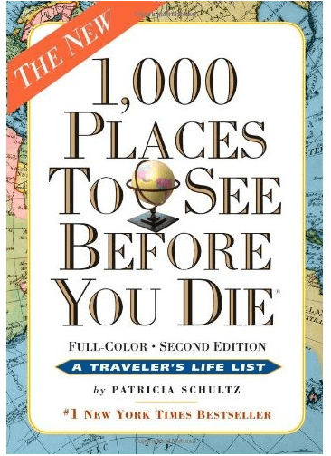 a family following 1000 places to see before you die