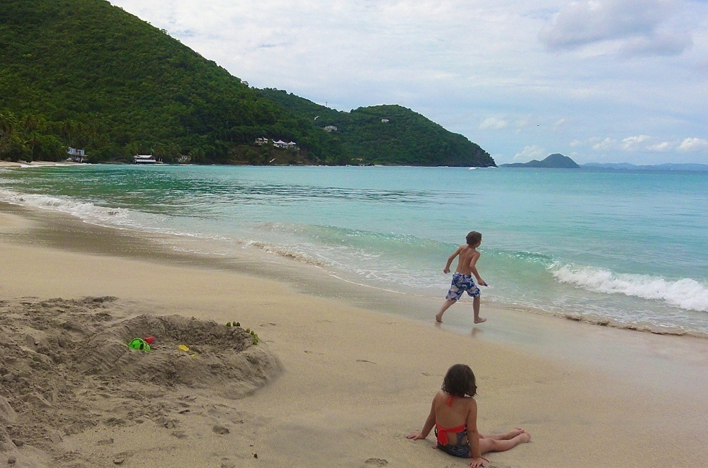 Best Beaches Tortola - Cane Bay
