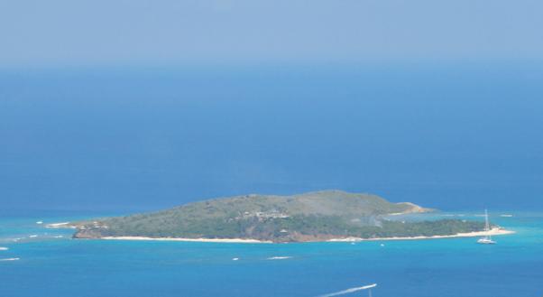 richard branson's necker island