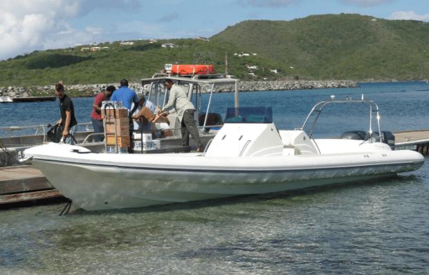 richard branson's necker island boat