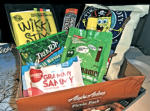 alaska airlines kids snack pack