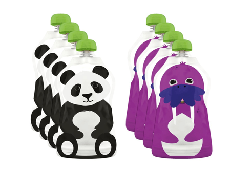 refillable baby food pouches for travel