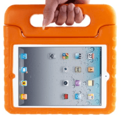 iPad protective carry case and cover for kids