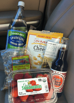 Trader Joe's road trip snacks