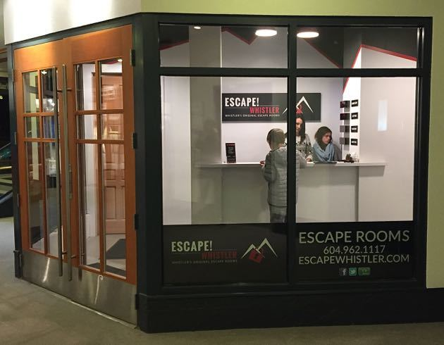 Escape Room Whistler Village