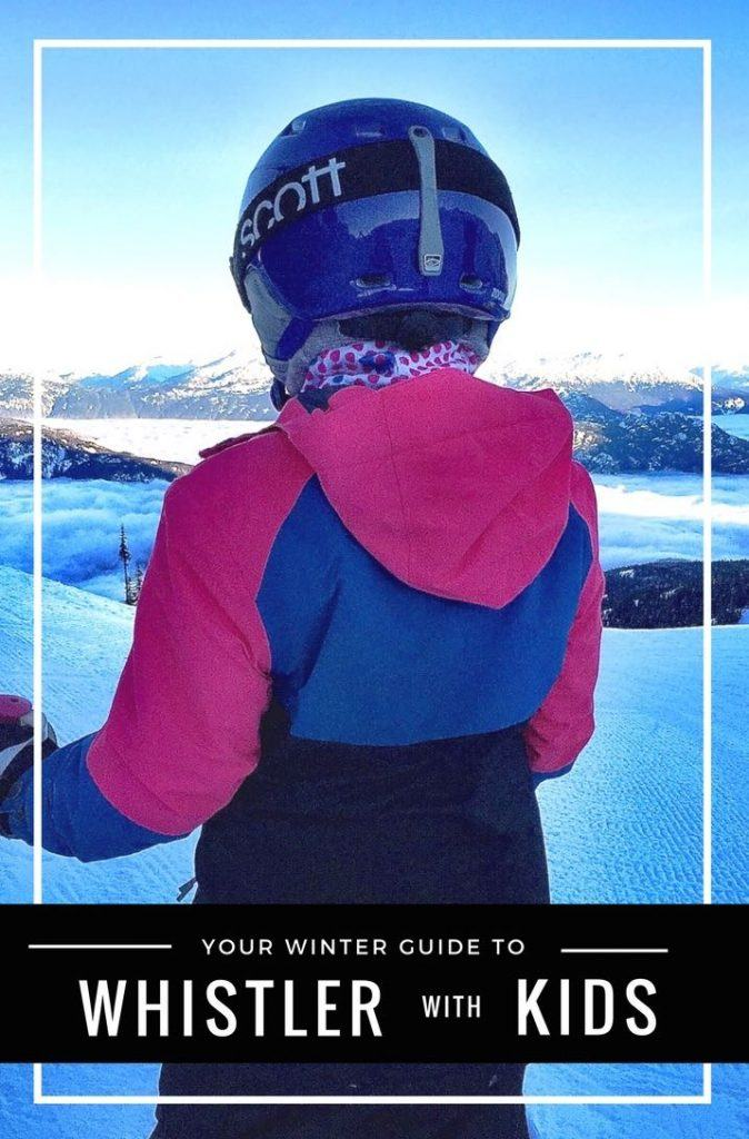 Whistler with Kids Winter Guide