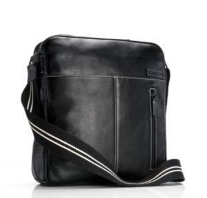 Features Storksak Mens Leather Diaper Bag