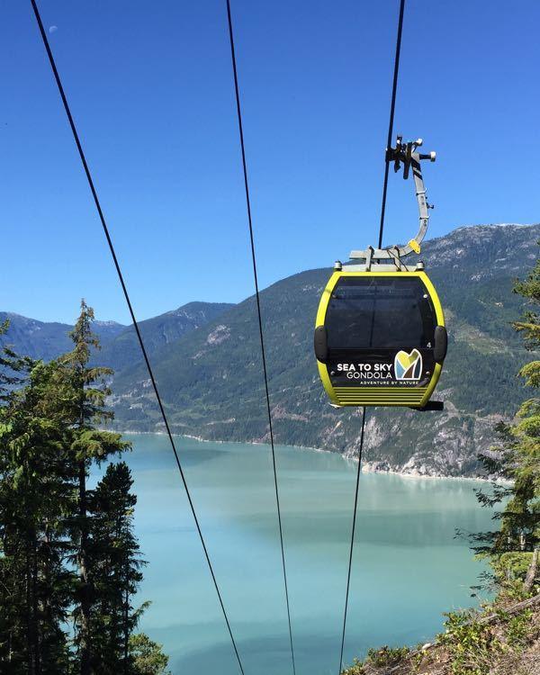 The Squamish Sea to Sky Gondola