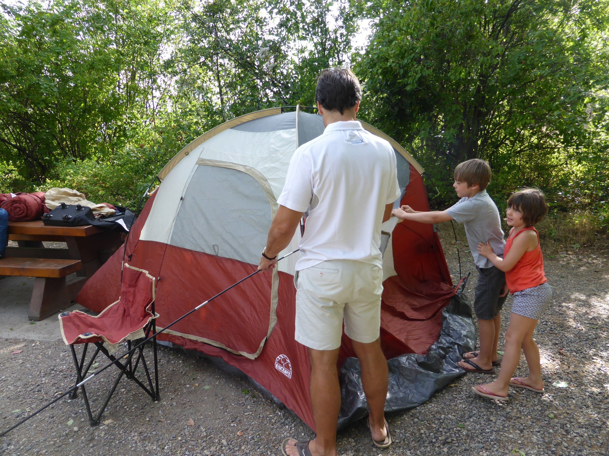 Tips for a First Family Camping Trip