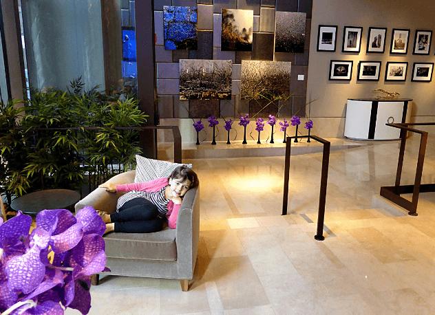 The Quin NYC Lobby