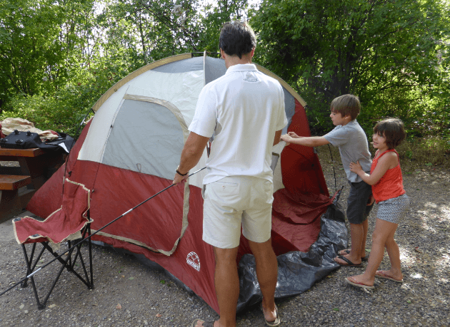A First Family Camping Trip – The Good, The Bad and The Ugly