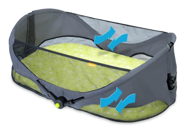 Brica Portable Baby Crib Travel