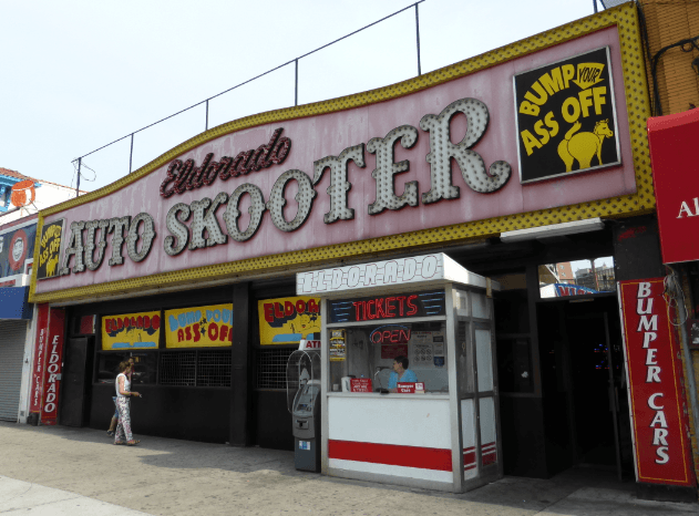 Coney Island Auto Scooter