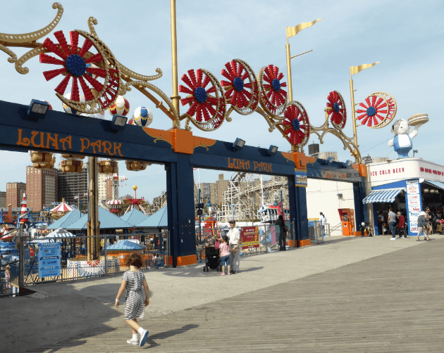 Coney Island Boardwalk 2