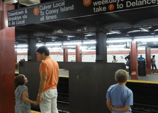 Coney Island F Train