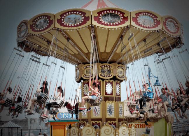 Luna Park, Coney Island with kids