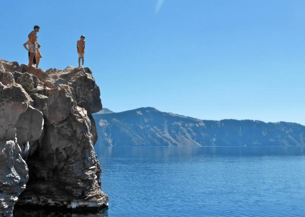 Cleetwood Jump Crater Lake