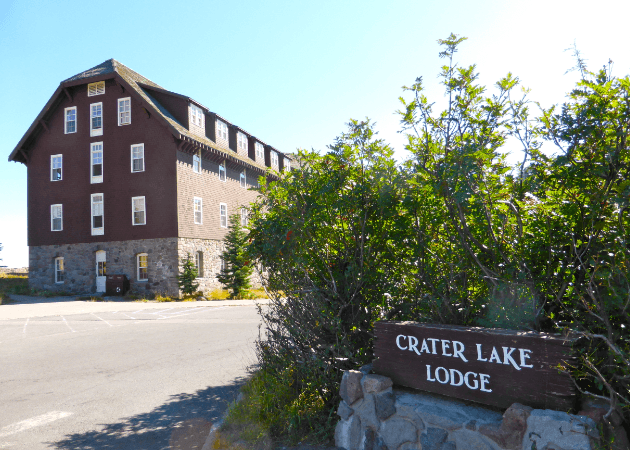 Crater Lake Lodge Exterior