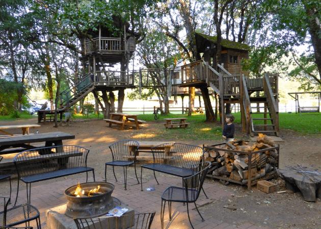 Family-friendly Treehouse Hotel