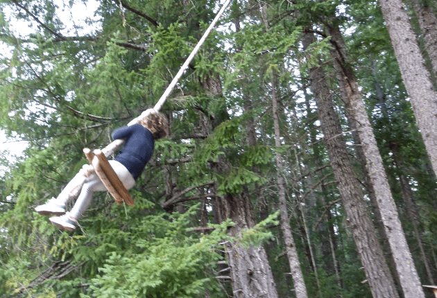Rope Swing Out n About