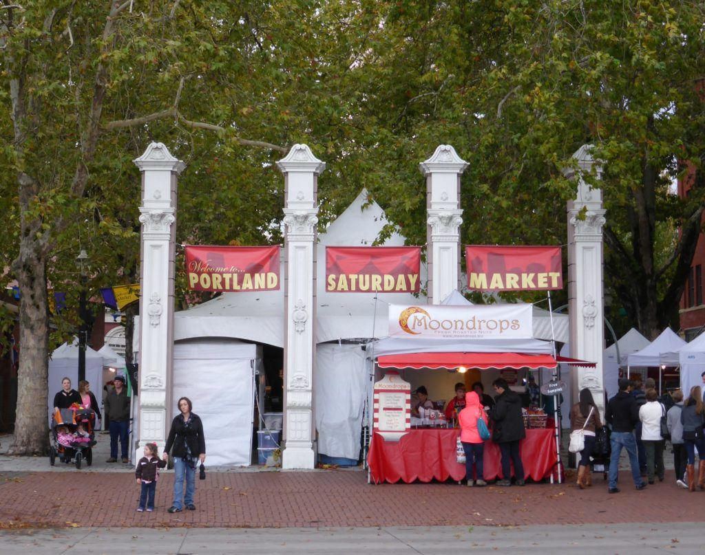 Kid Friendly Things to do in Portland - Saturday Market