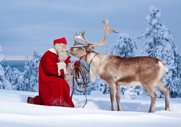 A White Christmas –  in Finnish Lapland