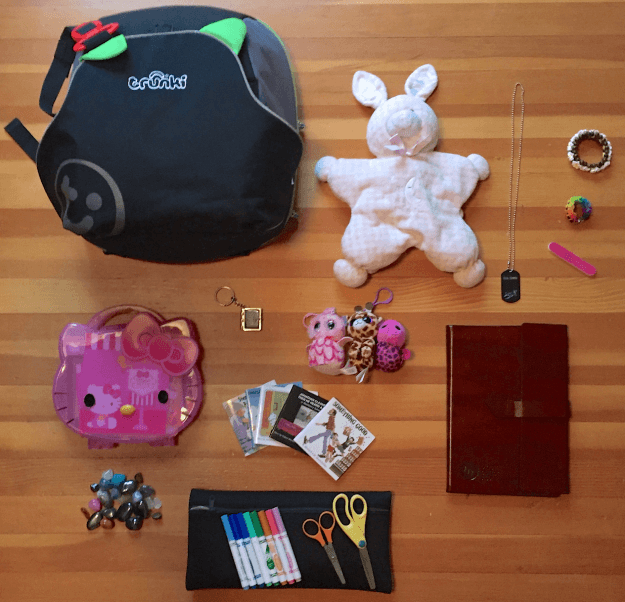 what's in her bag?  the san francisco edition