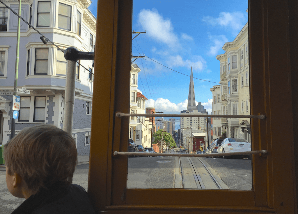 Riding the Cable Cars with Kids