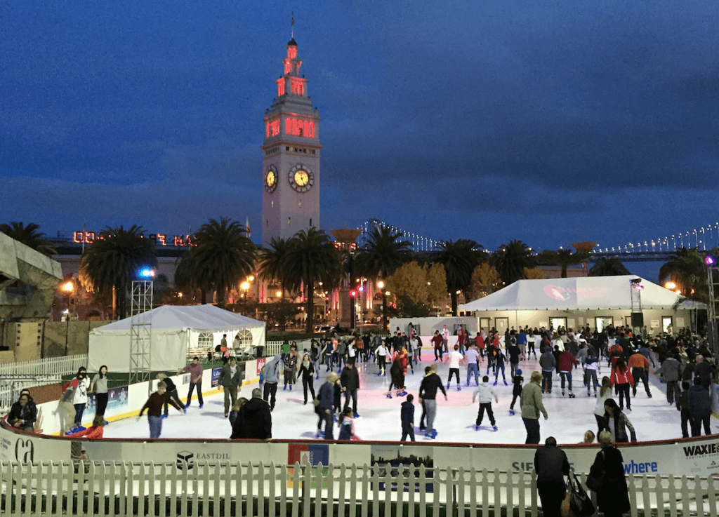 Outdoor Ice Skating San Francisco