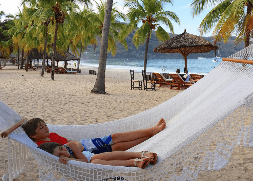 Best Hotel for Kids La Ropa Beach Zihuatanejo
