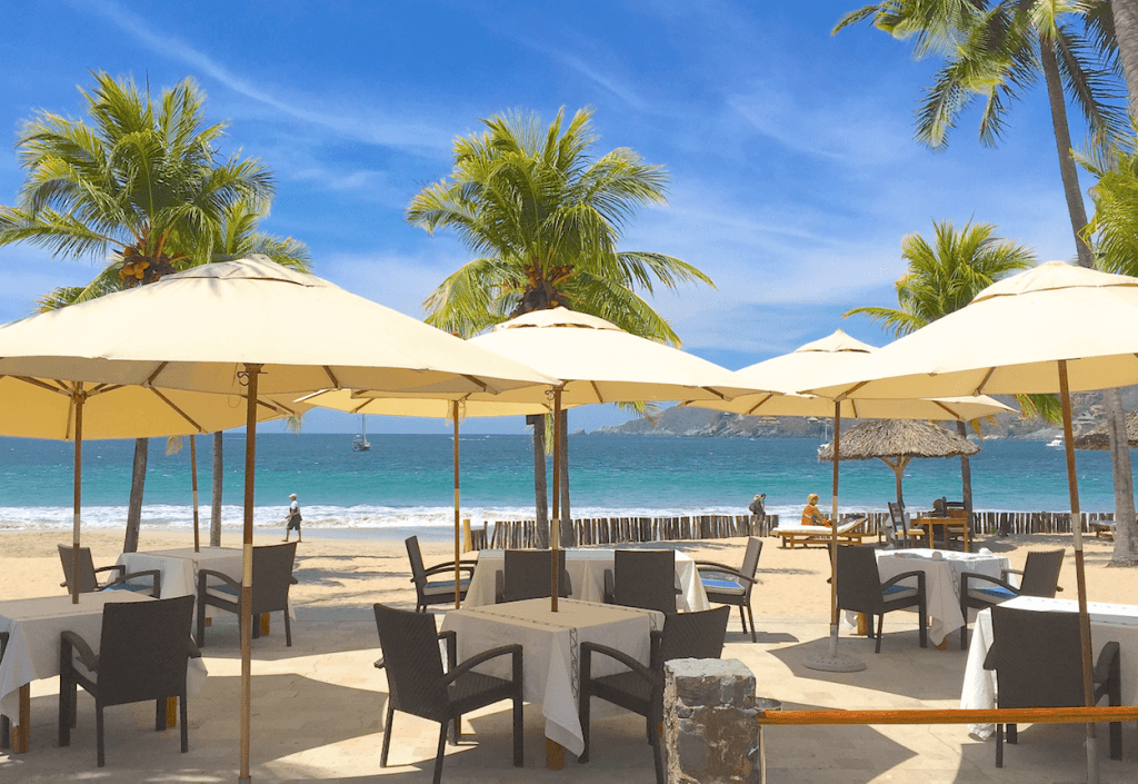 Best Restaurants La Ropa Beach