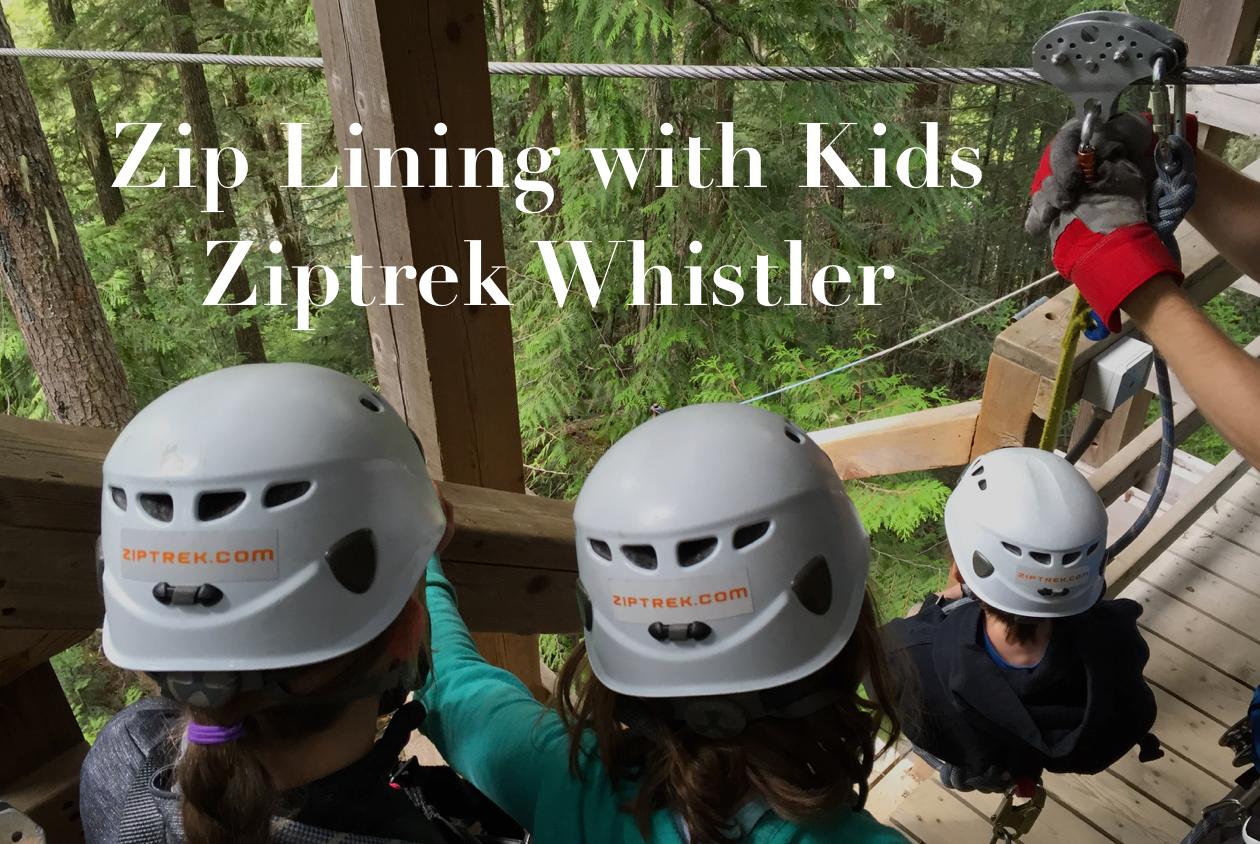Zip Lining Whistler