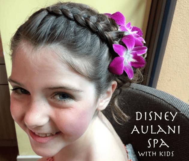 Disney Aulani Kids' Spa – Hawaii