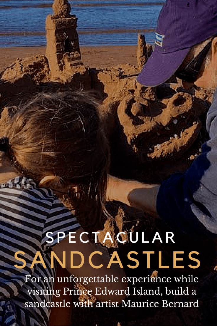 Sandcastles on Prince Edward Island