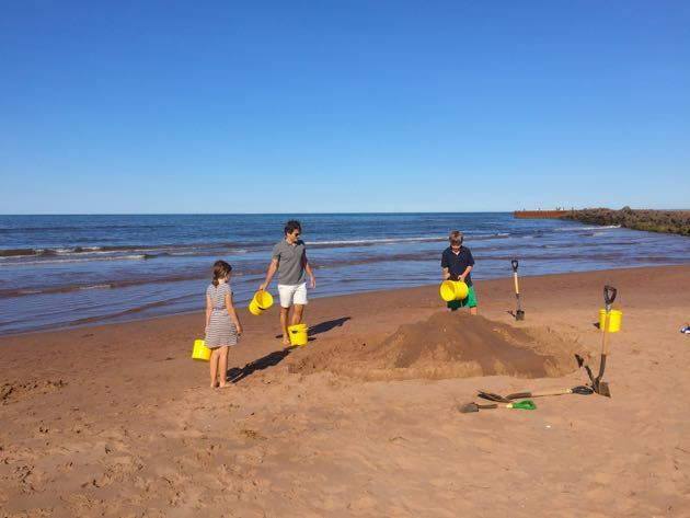 Family activities Prince Edward Island
