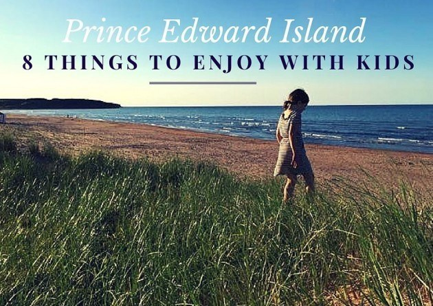 Prince Edward Island with toddler