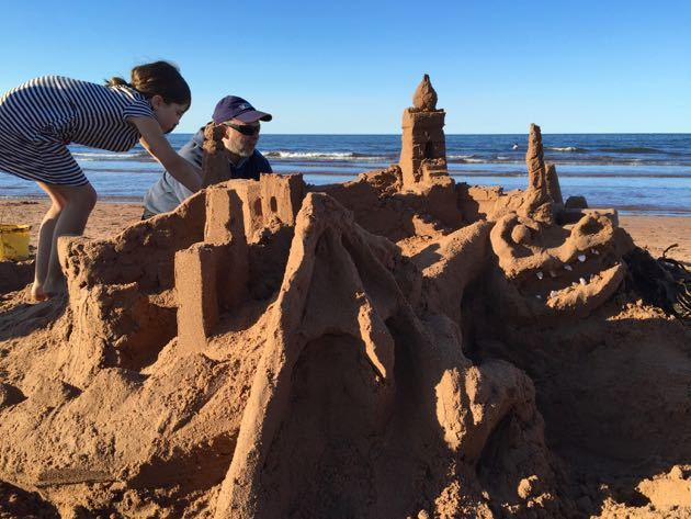 Sensational Sandcastles on Prince Edward Island