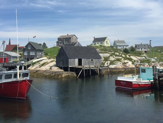 Peggy's Cove with Kids