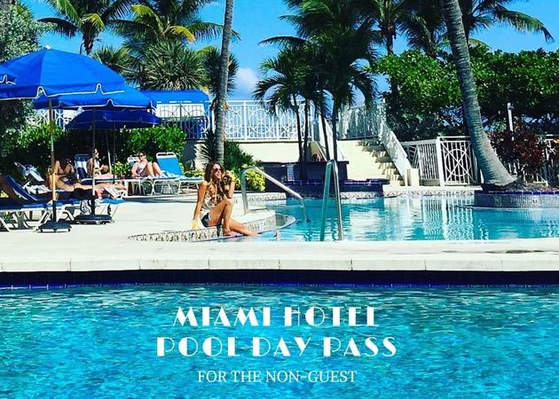 Day Pass for Miami Pools