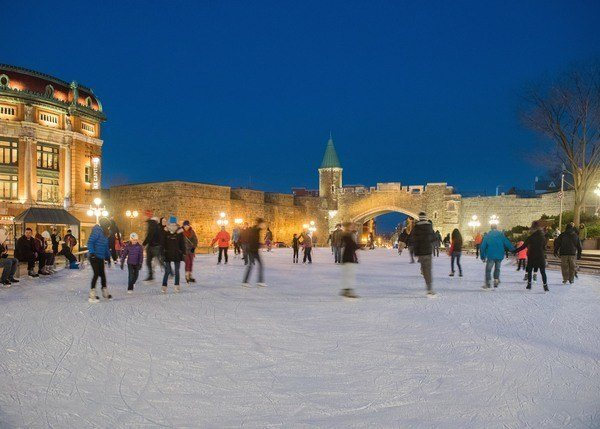 Outdoor Ice Skating Quebec City