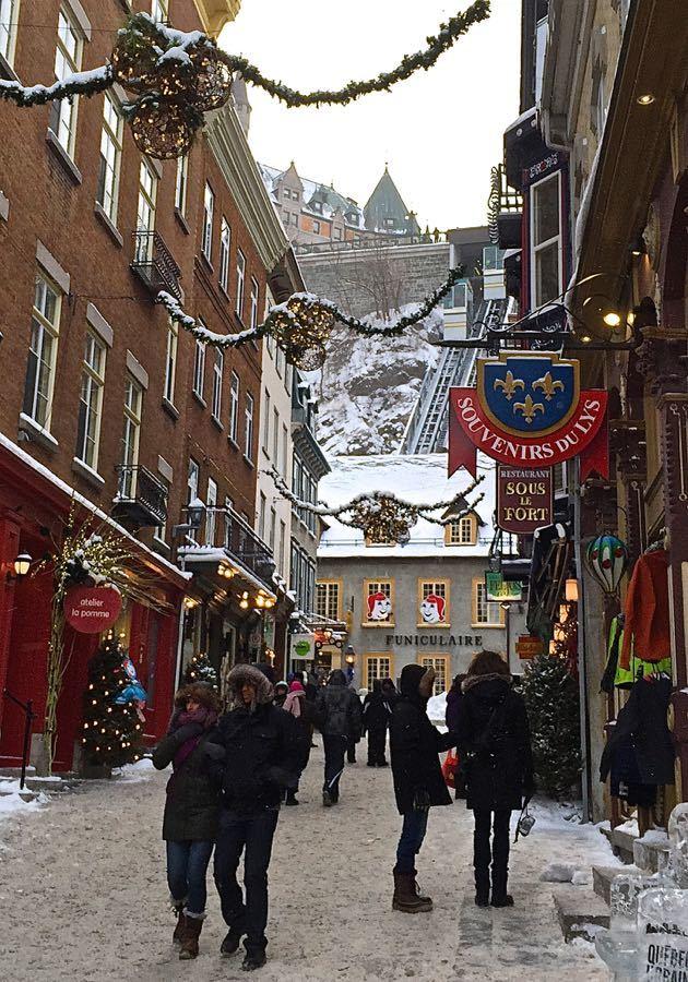 The Funicular Quebec City
