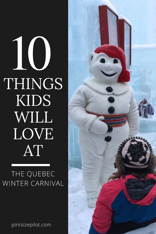 The Quebec Winter Carnival with Kids